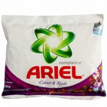 Ariel Colour & Style Complete Detergent Powder 500 GM