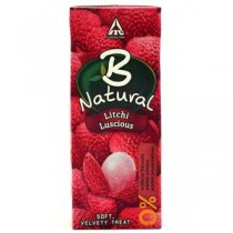 B Natural Litchi Juices 200 ML