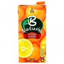 B Natural Orange Juices 1 Ltrs