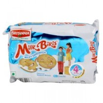 Britannia Milk Bikis Cream Biscuits Pouch 200 GM