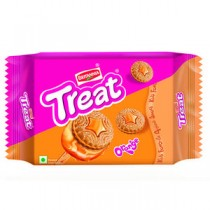 Britannia Treat Orange Cream Biscuits 150 GM