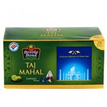 Brooke Bond Taj Mahal Honey Lemon Falvoured Green Tea 25 Pcs