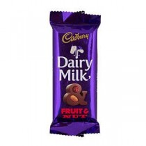 Cadbury Dairy Milk Fruit & Nut Chocolate 40 GM