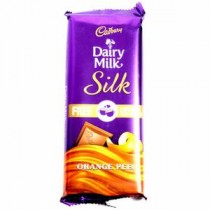 Cadbury Dairy Milk Silk Orange Peel Chocolate 145 GM