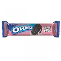 Cadbury Oreo Strawberry Cream Biscuits 60 GM