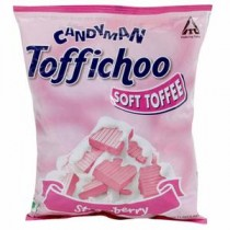 Candyman Toffichoo Strawberry Candy Pouch 330 GM