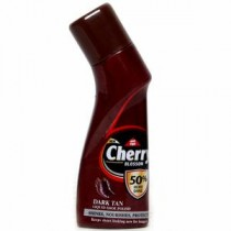 Cherry Blossom Dark Tan Liquid Shoe Polish Bottle 75 ML