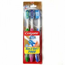 Colgate 360 Surround Toothbrush 2+1 Pcs