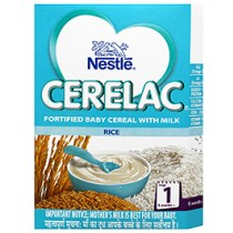 Nestle Cerelac Infant Cerelac With Milk - Rice 1 (300 GM)