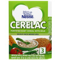 Nestle Cerelac Infant Cerelac With Milk - Wheat-Rice 3 (300 GM)
