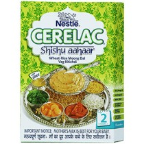Nestle Cerelac Infant Cerelac With Milk - Wheat Rice Moong DAL 2 (300 GM)